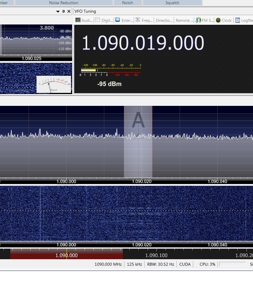AFEDRI SDR-Net + SDR Console v2 +ADS-B reception