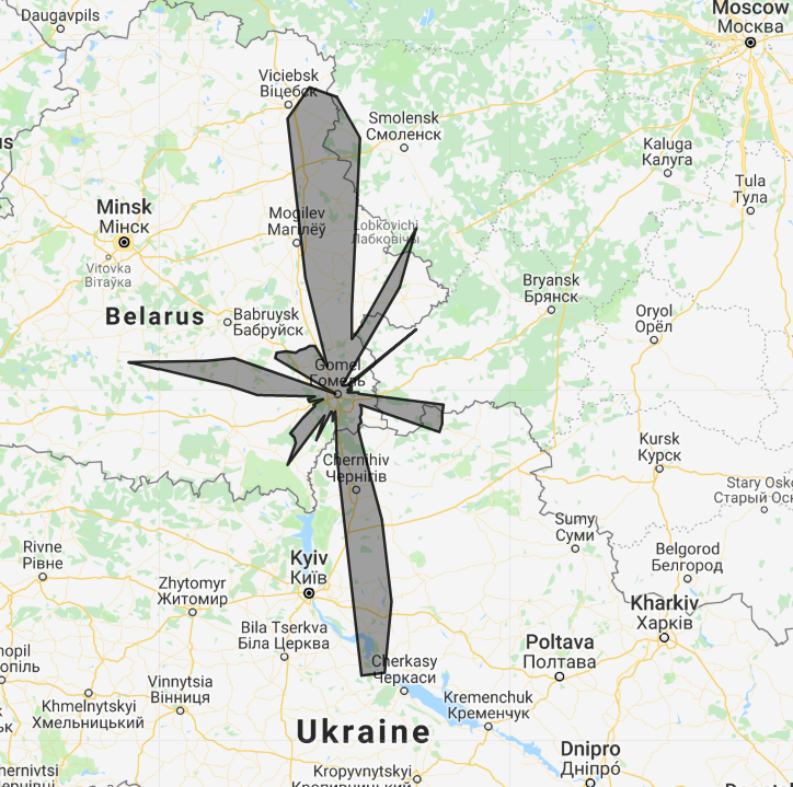 ew8ax - ADS-B Yagi 10 elements - Kiev direction (UKBB)